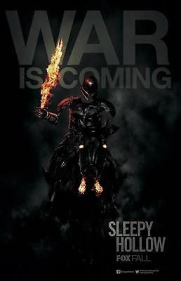 "Sleepy Hollow SDCC 2014 Exclusive FOX TV 11""x17"" Promo Poster - redrum comics"