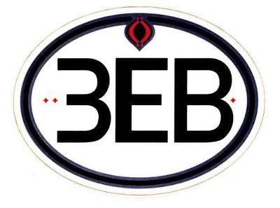 Third Eye Blind Vinyl Bumper Skate Deck Window Sticker - redrum comics