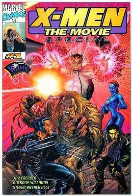 X-Men the Movie Special WOTC TCG Exclusive Comic Marvel - redrum comics