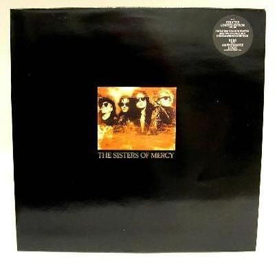 "Sisters of Mercy Doctor Jeep 12"" Single LTD Edition w/Poster Andrew Eldritch"