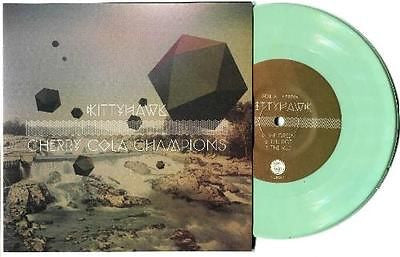 "Kittyhawk / Cherry Cola Champions split 7"" on Mint Green Vinyl /100 Punk Rock - redrum comics"