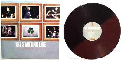 The Starting Line Early Years Red/Brown split Vinyl LP New Sealed Punk Rock - redrum comics