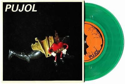 "Pujol Circles 7"" Lizard Green Colored Vinyl w/MP3 Code RSD 2014"