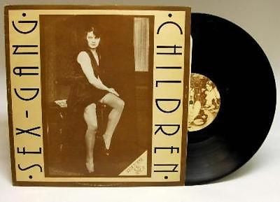 "Sex Gang Children Mauritia Mayer Original 12"" single 1985 LP Goth Punk Andi"
