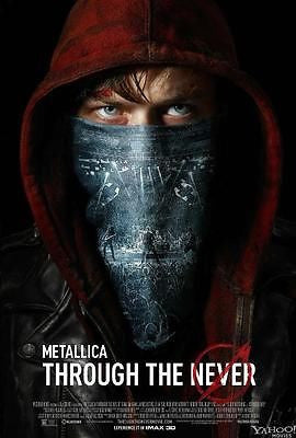 "Metallica Through The Never Movie 13.5""x20"" IMAX 3D Promo Poster - redrum comics"