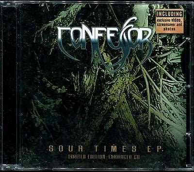 Confessor Sour Times E.P. CD New Sealed Doom Progressive Metal - redrum comics