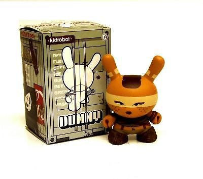 "Kidrobot 3"" Dunny Huck Gee Post Apocalypse Female Road Warrior - redrum comics"