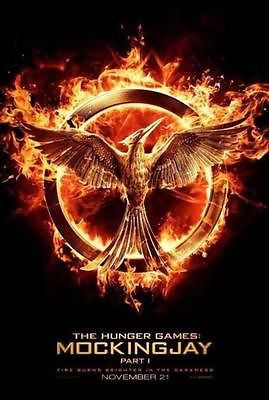 "Hunger Games MockingJay Part 1 SDCC 2014 Exclusive 13""x20"" Promo Poster"