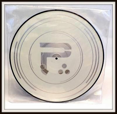 "Periphery Clear EP White with Silver Vinyl 12"" Picture Disc New Unplayed /500 - redrum comics"