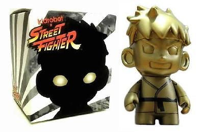 Kidrobot x Street Fighter NYCC 2013 Exclusive GOLD RYU figure New Sealed - redrum comics