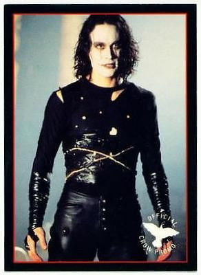 The Crow Original Movie Promo Card P1 Brandon Lee 1994 Kitchen Sink - redrum comics