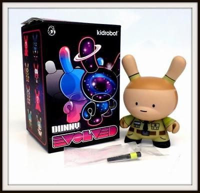 "Kidrobot 3"" Dunny Evolved Huck Gee Stage One Monkey Cop 3/20 MINT - redrum comics"