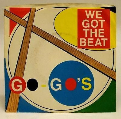 "Go Go's We Got the Beat 45 7"" Vinyl USA picture sleeve - redrum comics"