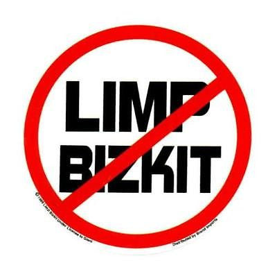 Anti Limp Bizkit Vinyl Bumper Skate Deck Window Sticker Fred Durst - redrum comics