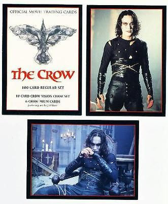The CROW Original Movie Trading 100 card set Brandon Lee MINT Kitchen Sink - redrum comics