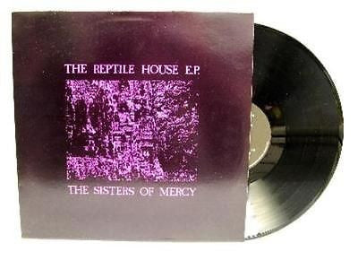 "Sisters of Mercy Reptile House Original 1983 EP 12"" Andrew Eldritch Darkwave"