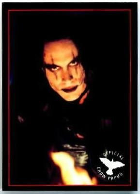 The Crow Original Movie Promo Card P3 Brandon Lee 1994 Kitchen Sink - redrum comics