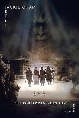 "Jackie Chan Jet Li The Forbidden Kingdom 11""x17"" Movie Poster - redrum comics"