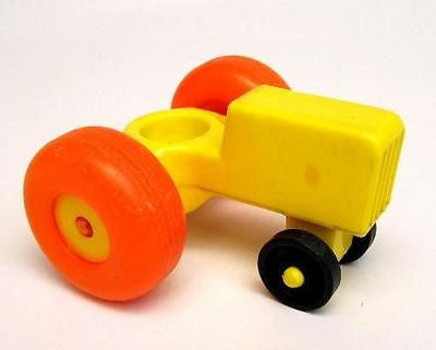 Fisher Price Vintage Little People Farm Tractor