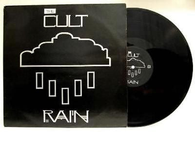 "The Cult Rain (Here Comes the) 12"" Vinyl Single 1985 Ian Astbury Beggars Banquet"