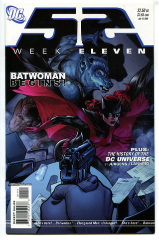 52 Week #11 Eleven NM (2006) 1st Appearance Kate Kane Ruby Rose Batwoman