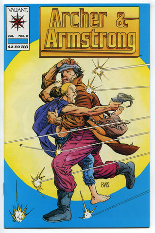 Archer & Armstrong #0 1st Appearance Barry Windsor Smith Valiant 1992 NM - redrum comics