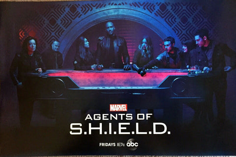 "SDCC 2019 Marvel Comics AGENTS OF SHIELD 13""x20"" Promo Poster ABC TV MCU"