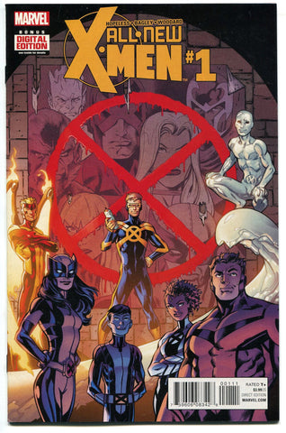 ALL-NEW X-MEN (2015) #1 NM Marvel Comics X-23 Wolverine Kid Apocalypse
