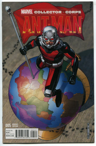 ANT-MAN #5 Exclusive Marvel Collector Corps variant edition! NM
