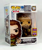 Funko Pop! Aquaman w/Motherbox SDCC 2017 Convention Exclusive Jason Momoa Figure