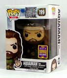 Funko Pop! Aquaman w/Motherbox SDCC 2017 Convention Exclusive Jason Momoa Figure - redrum comics