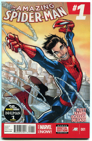 Amazing Spider-Man (2014) #1 First Printing Humberto Ramos Standard Cover NM