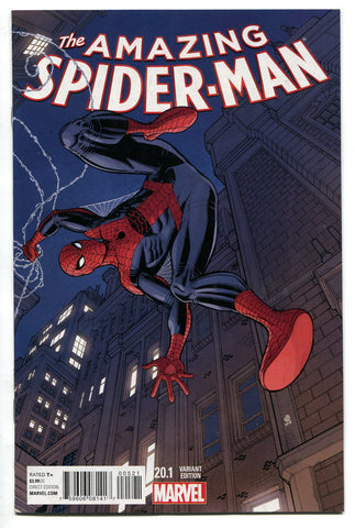 Amazing Spider Man #20.1 Bradshaw Variant (Vol 3) VF/NM Marvel Comics