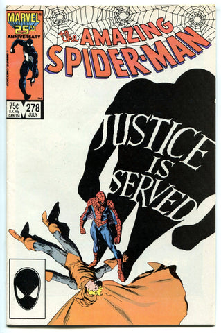 Amazing Spider-Man #278 VF Hobgoblin Marvel Comics 1986