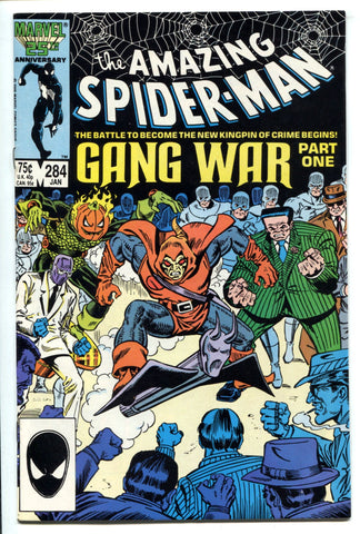 Amazing Spider-Man #284 VF+/NM High Grade Gang War Hobgoblin Hammerhead 1987