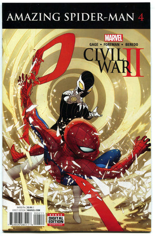 Civil War II : Amazing Spider-Man #4 Regular Cover Marvel Comics 2016 NM