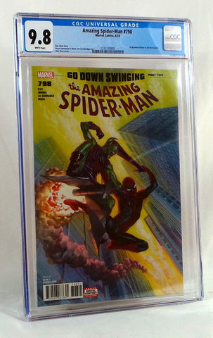 Amazing Spider-Man #798 CGC 9.8 NM Alex Ross Cover 1st appearance Red Goblin