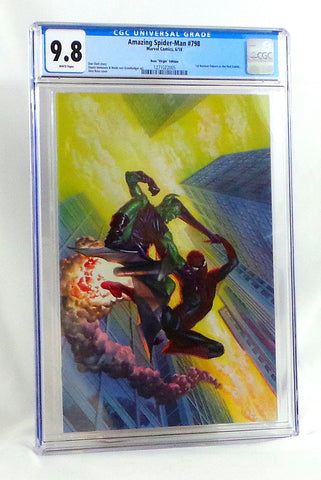 Amazing Spider-Man #798 CGC 9.8 NM Alex Ross Virgin Variant Cover 1st Red Goblin - redrum comics