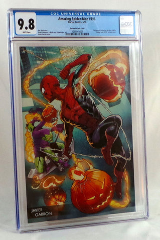 Amazing SpiderMan #798 CGC 9.8 NM Young Guns Garron Variant Cover 1st Red Goblin