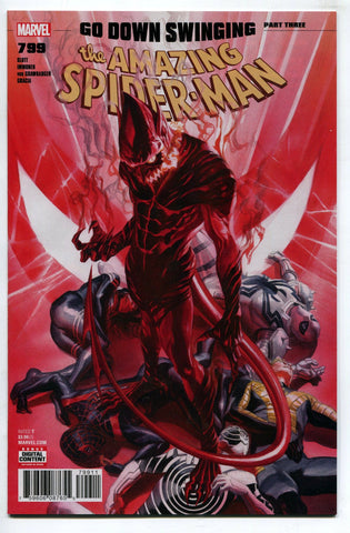 Amazing Spider Man #799 Alex Ross Regular Cover NM Red Goblin Carnage