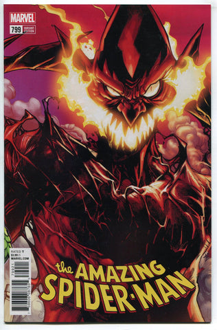 Amazing Spider Man #799 Humberto Ramos Variant Cover NM Red Goblin Carnage - redrum comics