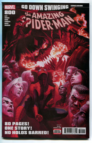 The Amazing Spider-man #800 Alex Ross Marvel Comics 2018 NM Red Goblin