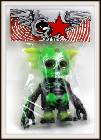 Secret Base x Astro Zombies x Pushead Osaka Superfest Skullwing Sealed Kaiju - redrum comics