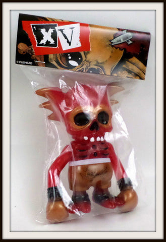 Secret Base x Astro Zombies x Pushead 15th Anniversary Skullwing Sealed Kaiju - redrum comics