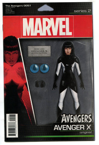 Avengers #5.1 Christopher Avenger X Action Figure Variant Cover VF/NM 2016