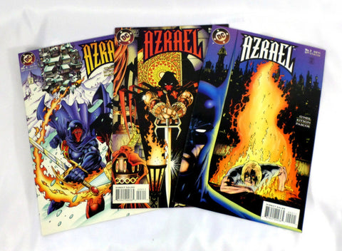 Azrael issues 2 3 4 DC Comics 1995 VF Batman Jean-Paul Valley Knightfall