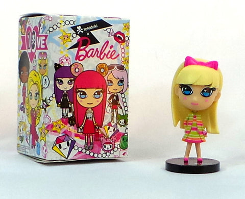 "Tokidoki x Barbie 1967 All That Jazz 10th Anniversary 4"" Blind Box Vinyl Figure - redrum comics"