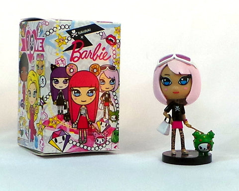 "Tokidoki x Barbie Pink Hair w/Cactus Pup 10th Anniversary Blind Box 4"" Figure"