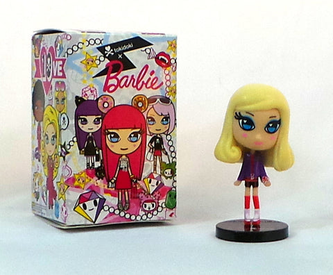 "Tokidoki x Barbie RollerSkate Barbie 10th Anniversary Blind Box 4"" Vinyl Figure"