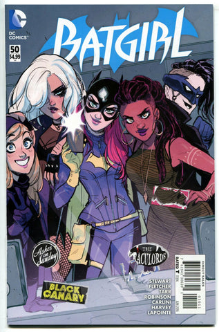 BATGIRL #50 DC Comics 2016 NM Black Canary Velvet Tiger The Fugue
